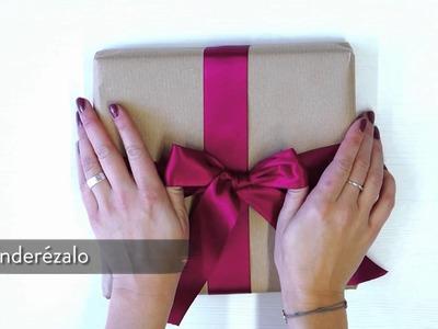 Cómo hacer lazos: el lazo perfecto para regalo | Consejos Westwing
