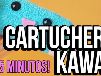 Cómo hacer una cartuchera Kawaii - EN MENOS DE 5 MINUTOS!!!