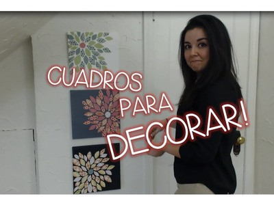 HAZ CUADROS DECORATIVOS PRECIOSOS! - LUCIA ♥