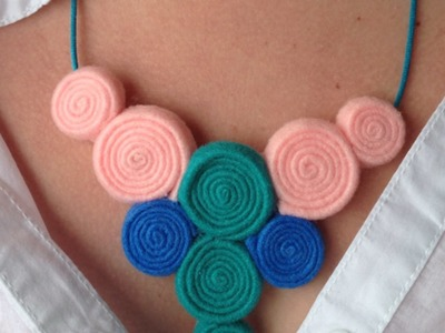 Haz un Colorido Collar de Fieltro - Hazlo tu Mismo Estilo - Guidecentral