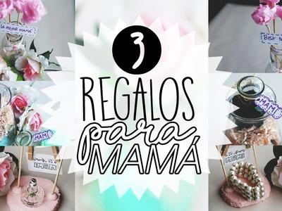 ¡3 REGALOS PARA MAMÁ! (IDEAS PARA ÚLTIMO MINUTO) | Paulettee