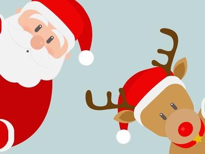Jingle Bells con Letra ❄ Villancicos de Navidad en Inglés para Niños | Canciones de Navidad Karaoke