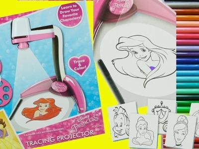 Proyector Para Dibujar Princesas Disney - Coloreando dibujos Infantiles + Juguetes Sorpresa
