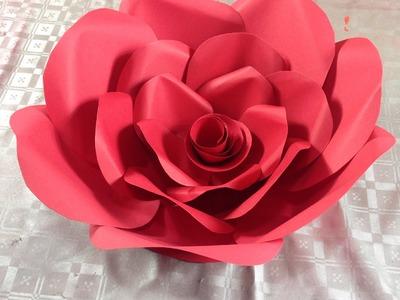 Rosa grande para decoración de boda