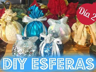 15 DÍAS DE NAVIDAD l DÍA 2: DIY ESFERAS NAVIDEÑAS!! l ARELI DURAZO