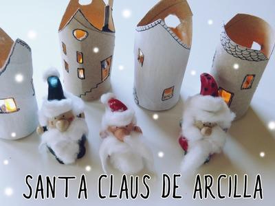 ADORNOS DE NAVIDAD DIY: Santa Claus o Papá Noel
