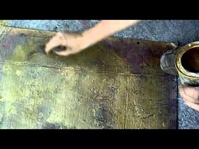 Como añejar hierro forjado
