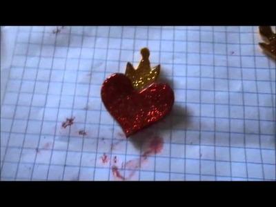 Como hacer el anillo y el collar de Evie