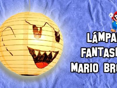 ✔ Cómo Hacer La Lámpara Del Fantasma Boo De Mario Bros