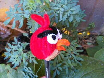 Como hacer un Angry Birds con limpiapipas