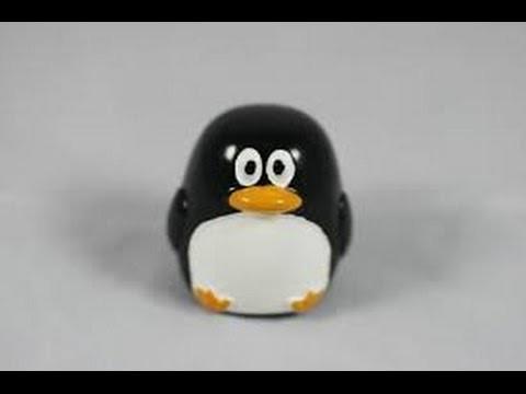 Como Hacer un Pinguino con elementos Reciclables- Hogar Tv por Juan Gonzalo Angel