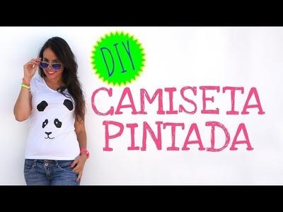 Cómo pintar una camiseta paso a paso - Panda