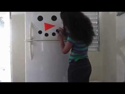 Decoración navideña para el Refrigerador.- ♫ Arielis ♪