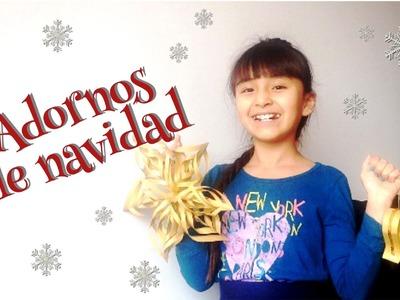 DIY! Adornos para navidad.Muy fácil- EstiloSophie