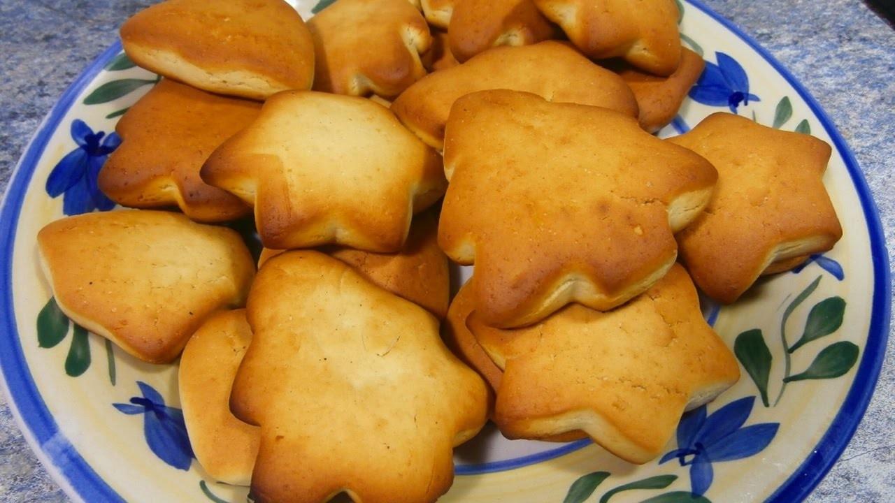 Galletas de mantequilla navide as recetas de postres for Platillos faciles y rapidos