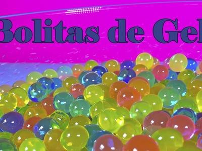 Bolitas de gel de colores | Bolitas como las de Orbeez