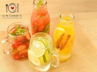 Cómo hacer Agua de Frutas | LHCY