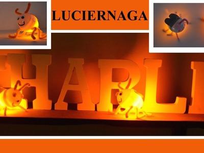 Como Hacer una luciernaga|How To make a Firefly