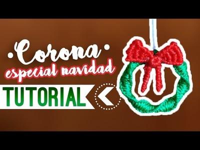 CORONA NAVIDAD ♥︎ macramé | Como hacer | How to #adorno