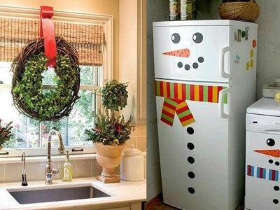 Decoración de Cocina para Navidad - Decorando la cocina para Navidad - Ideas para Navidad 2016
