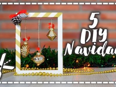 Decoración navideña 5 DIY - Elegantes e Infantiles