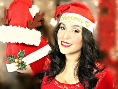 Decoracion para navidad. Decora tu gorro navideño. MyBluePas