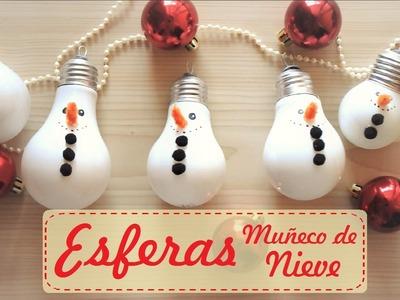 Esfera de muñeco de nieve ⛄ - Nuria