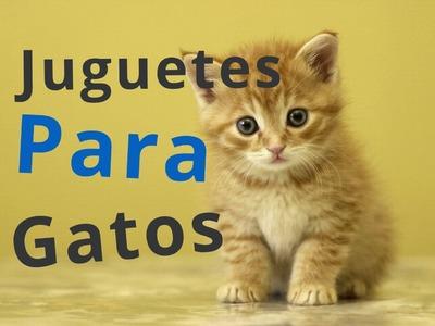 Haz 2 juguetes para gatos caseros faciles