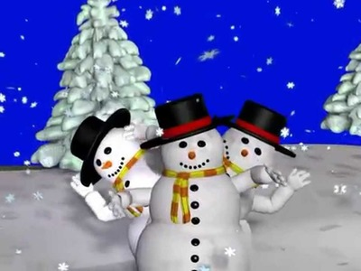 Muñeco de nieve, canción español , canciones de invierno, la nieve