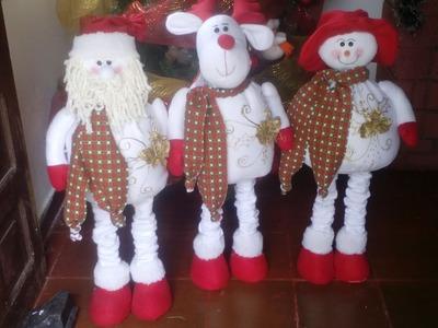 Muñeco de nieve Patas Largas 83 cm
