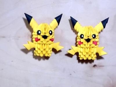 Picachu Origami 3d