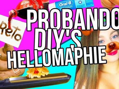 Probando DIY'S de HELLOMAPHIE | Rachel Tisdale
