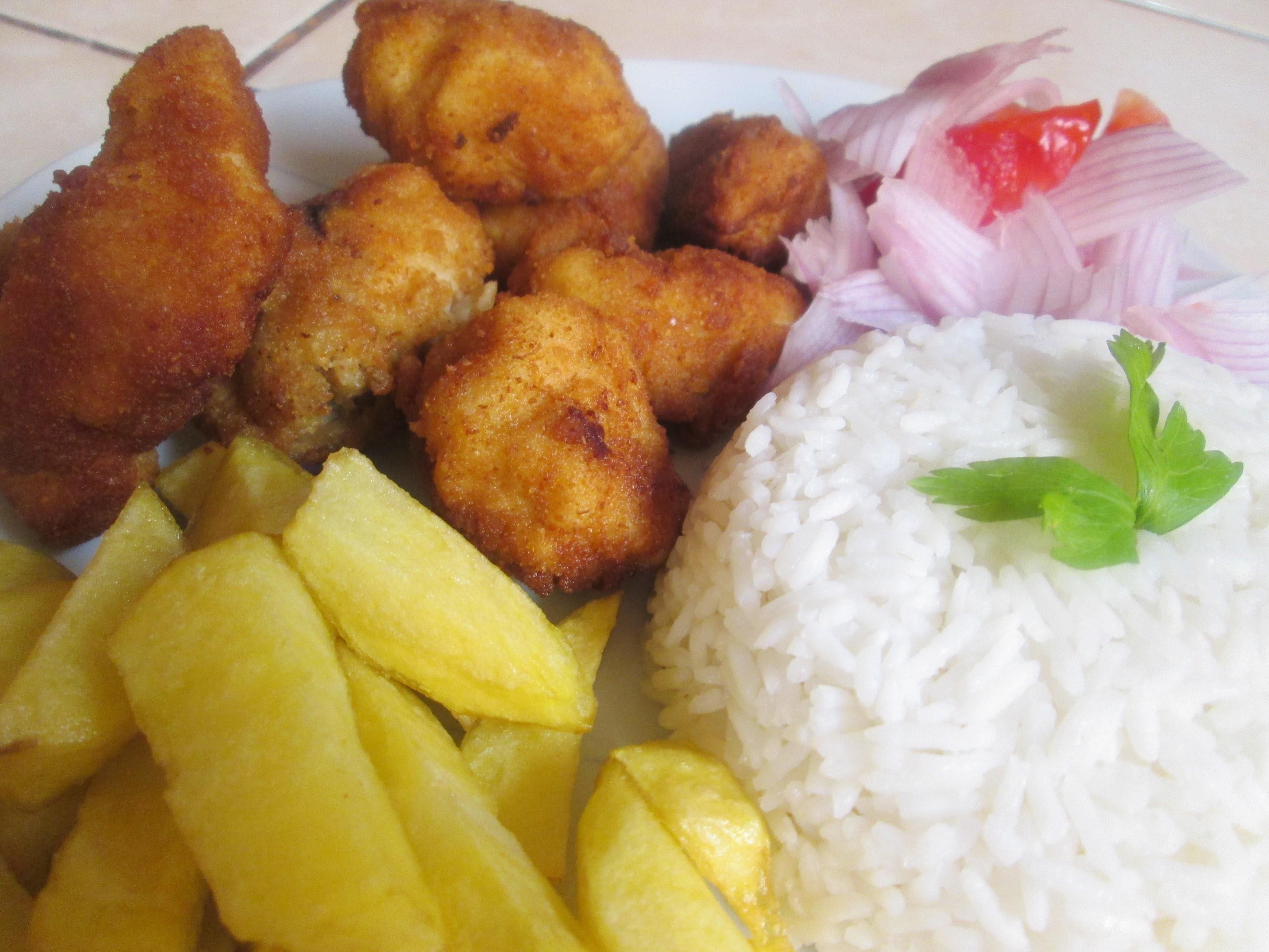 RECETA: Chicharrón de Pollo  (comida peruana)