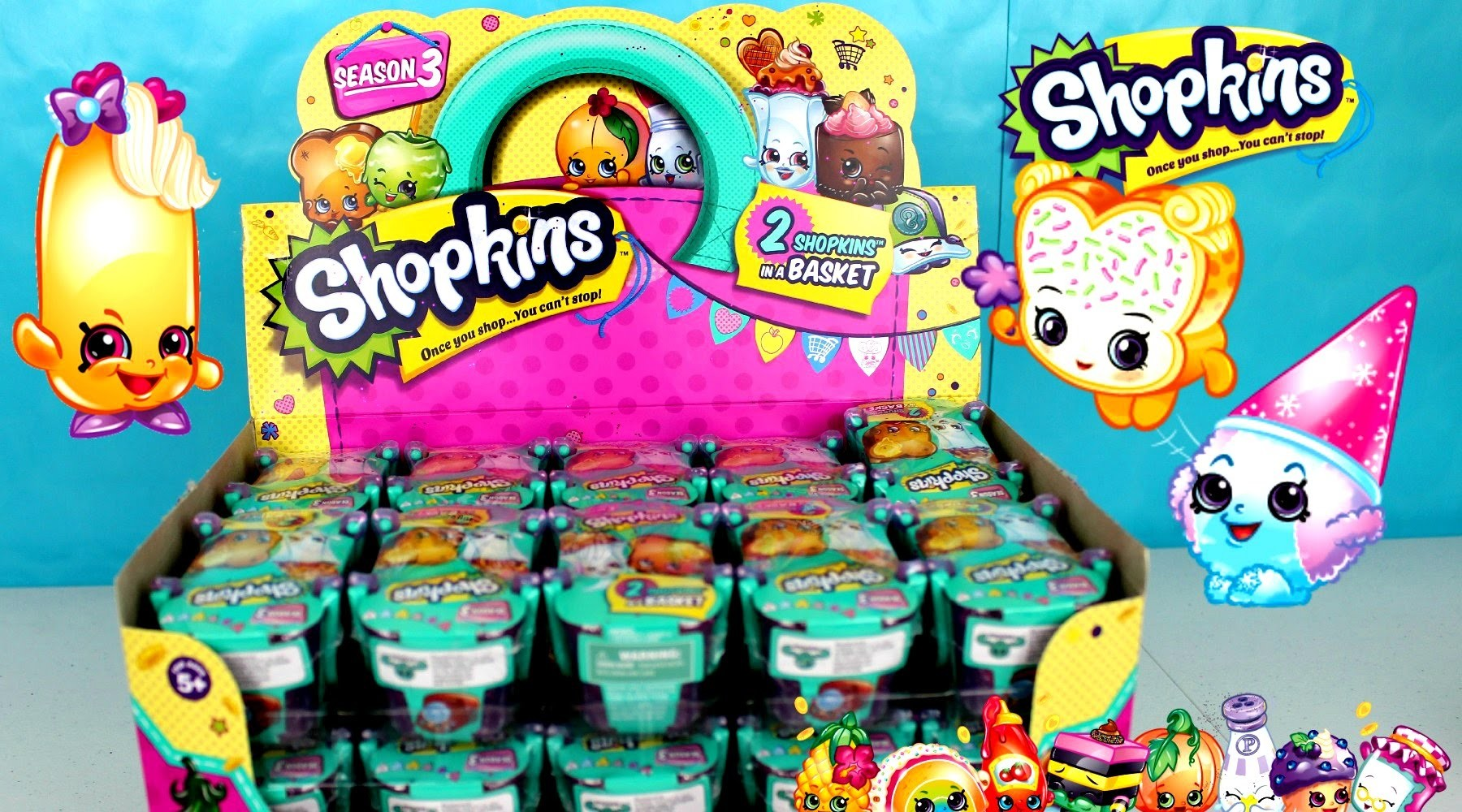 Shopkins Season 3 Juguetes Shopkins Español |Juguetes Sopresa