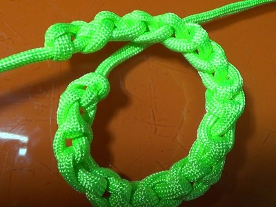"""Trenzado con una cuerda """"técnica milenaria"""""""