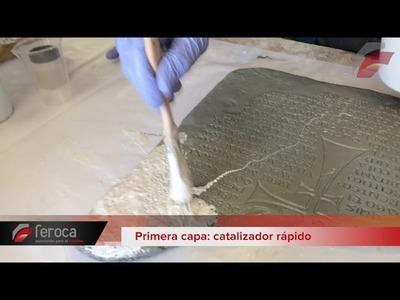 8 · Molde pincelado con carcasa de fibra