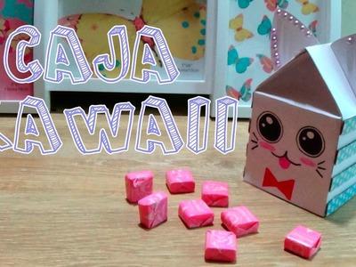 Caja con forma de gato│Candy Bu