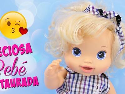 Cómo restaurar lavar y desinfectar  muñecas Baby Alive • Colegio de Juguetes