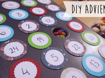 DIY Calendario de Adviento (fácil!)