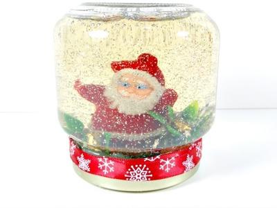 Ideas de Navidad #3 | Bola de nieve CASERA | Reciclaje