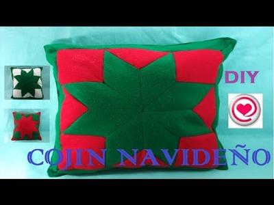 Manualidades para navidad:  Como hacer un cojin con [ reciclaje] de tela -Todo en Uno