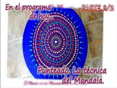 PUNTEADO  LA TECNICA DEL MANDALA 2.2