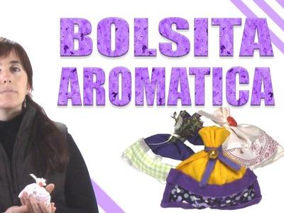 Como hacer una bolsa para lavanda u otras aromaticas - Video tutorial - diy