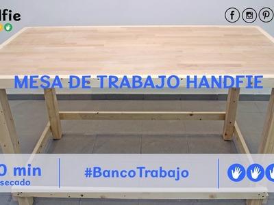 Cómo hacer una mesa de trabajo · Handfie DIY