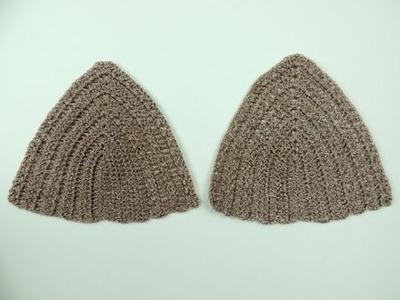Crochet: Copa de Blusa o Bañador