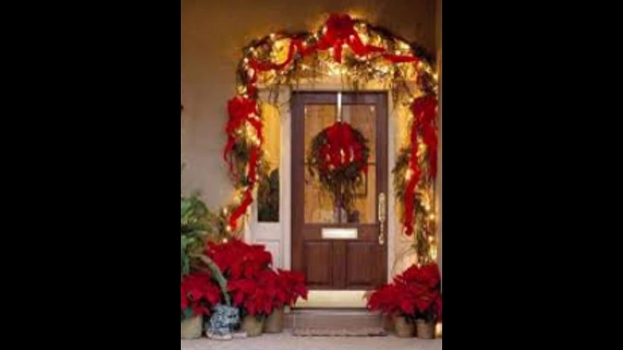 Christmas decoraciones navide as para ventanas y puertas for Decoracion de navidad para ventanas y puertas