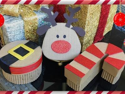 DIY: Cajas Navideñas (para regalar)