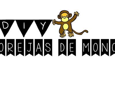 DIY: Cómo hacer unas orejas de mono
