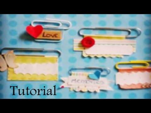 DIY: ¡Decora tus clips! ~ Fácil y Rápido  ♥ ~ Creative Space