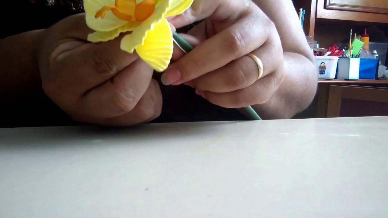 DIY#Orquídea de e.v.a